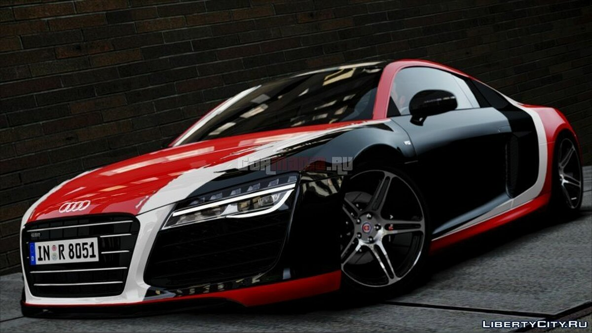 ������ Audi Audi R8 plus 2013 HRE RIMS [Beta] ��� GTA 4