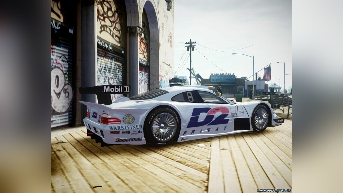 1998 Mercedes-Benz CLK LM [Sound & PJs] ��� GTA 4