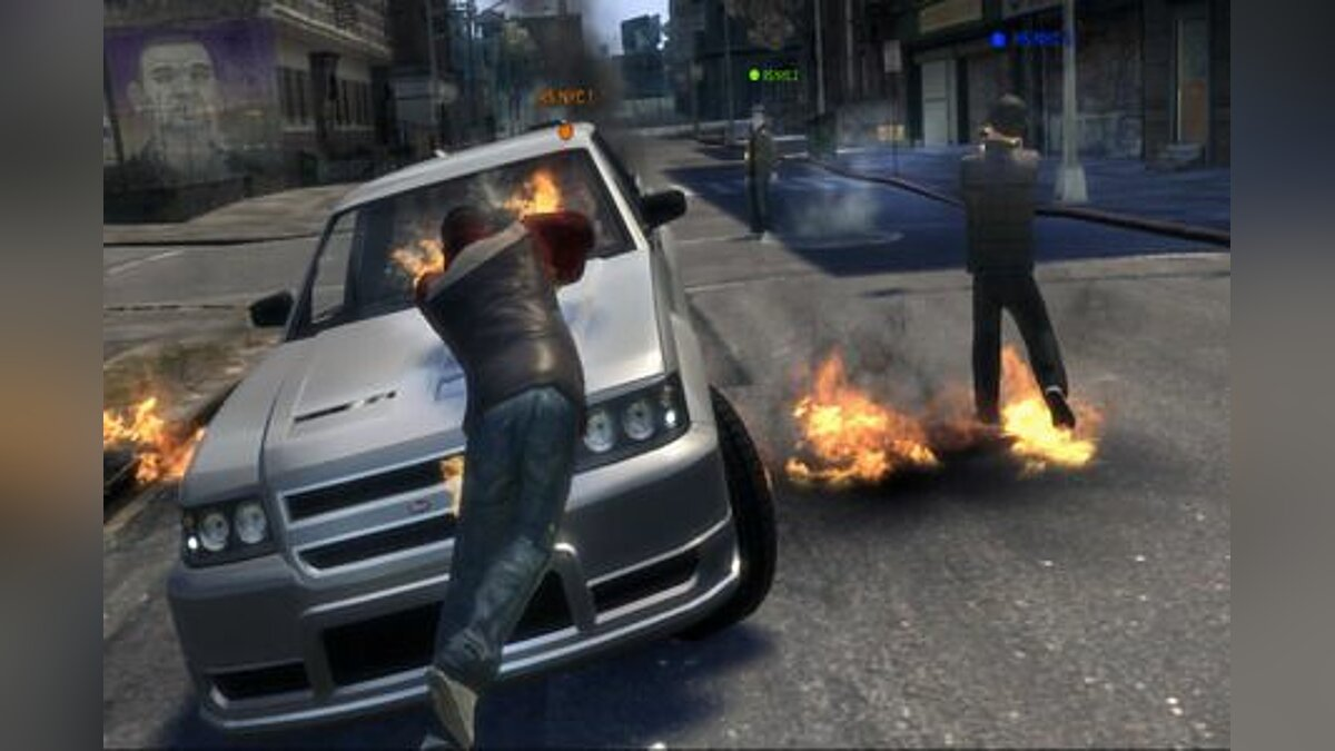 IV:MP 0.1 (Testing Build) + Server ��� GTA 4