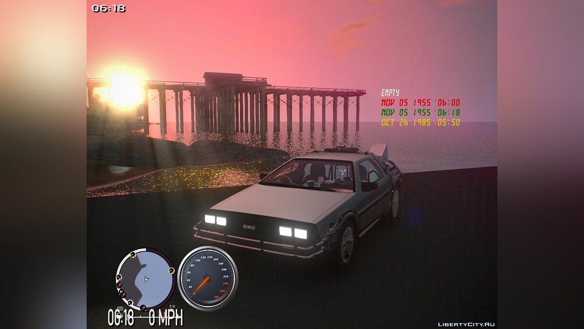 ��� Back to the future + Hill Valley ��� GTA 4