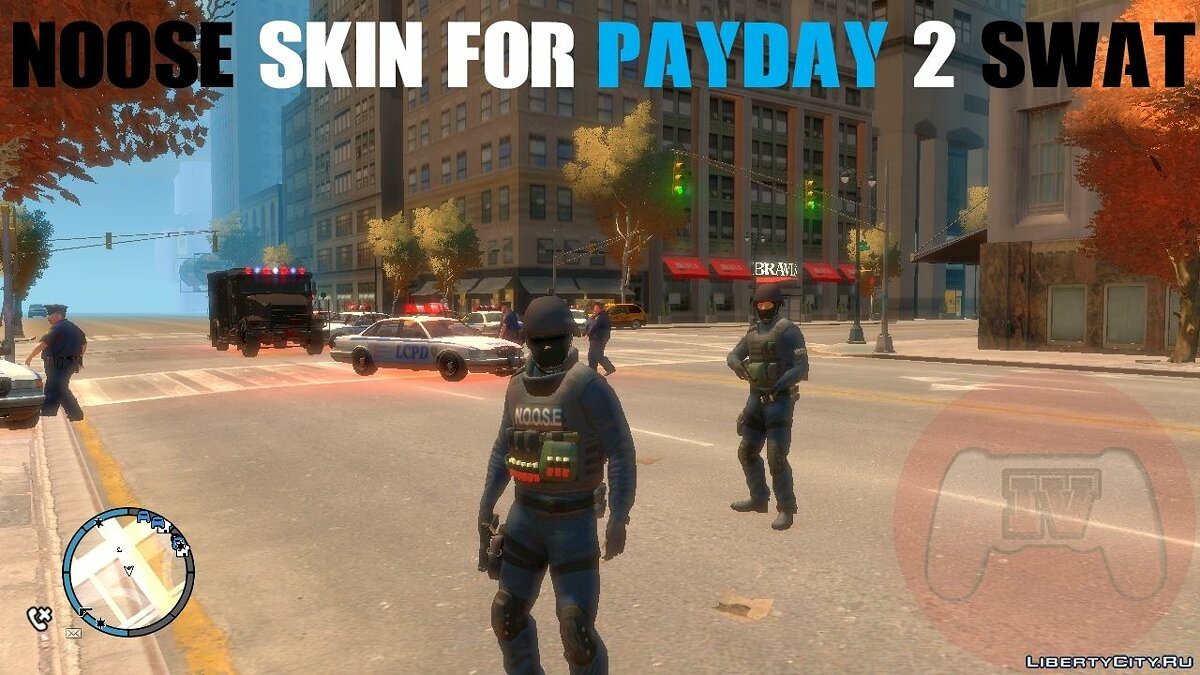 ����� �������� Noose Skin For PAYDAY 2 Swat ��� GTA 4