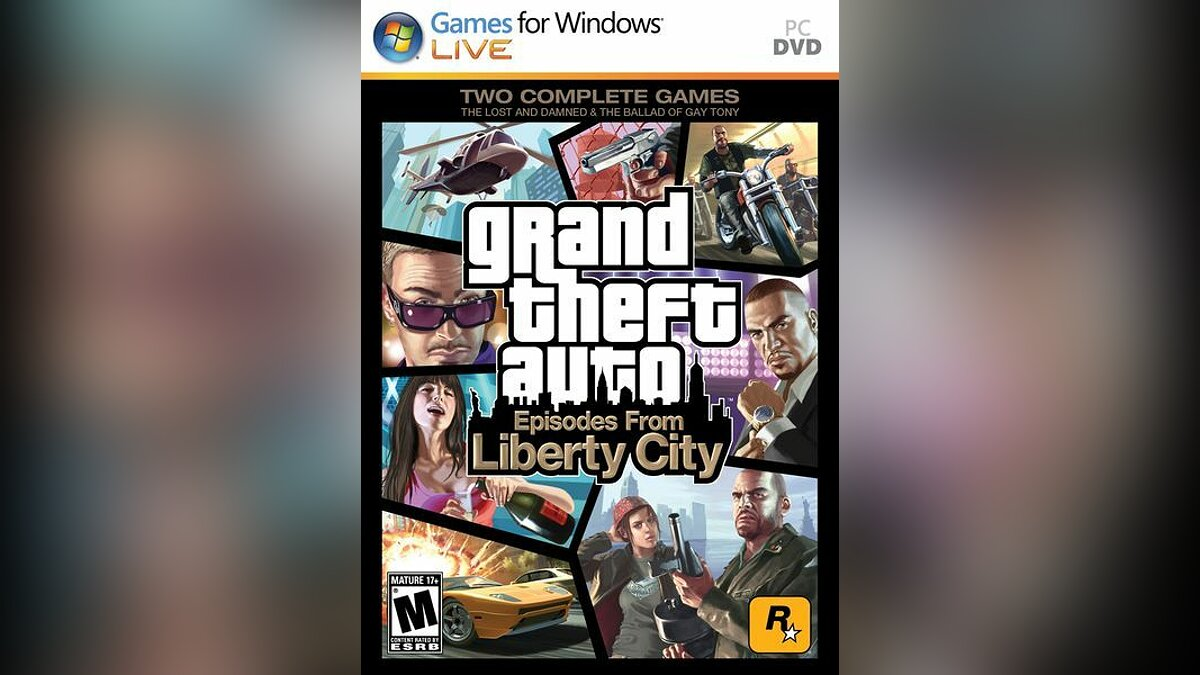 Патч Grand Theft Auto: Episodes from Liberty City v1.1.1.0