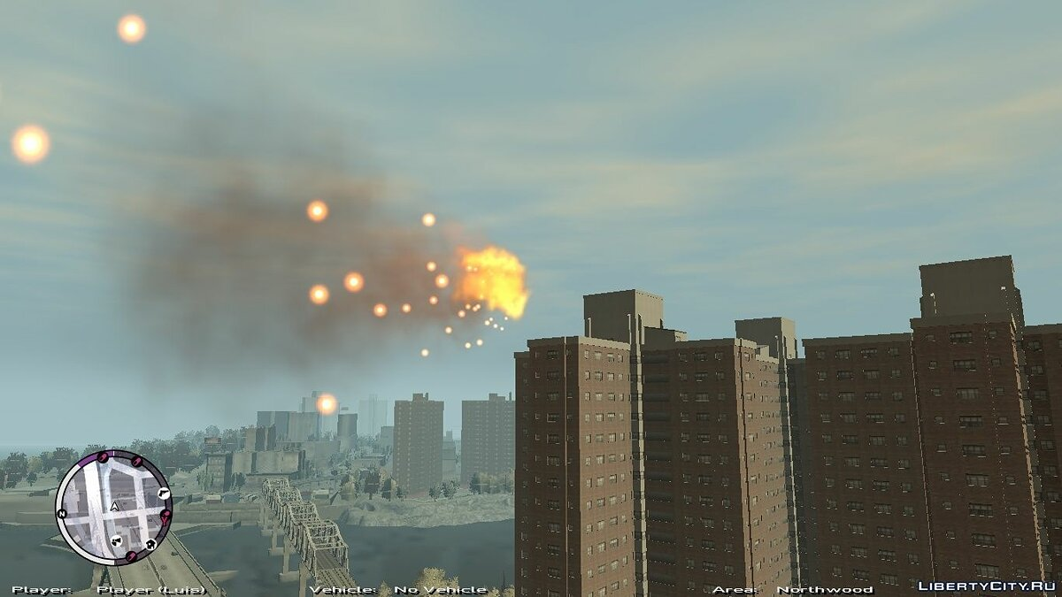 ���������� ��� Fly Around Liberty ��� GTA 4