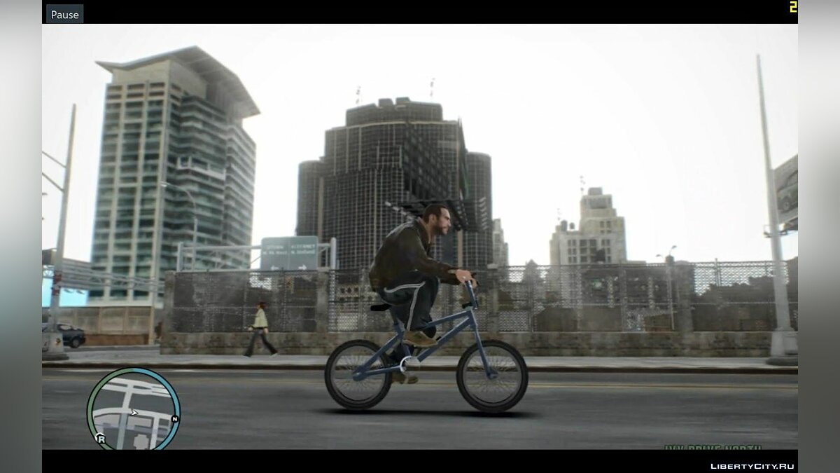 ���������� ��� Bicycle mod ��� GTA 4