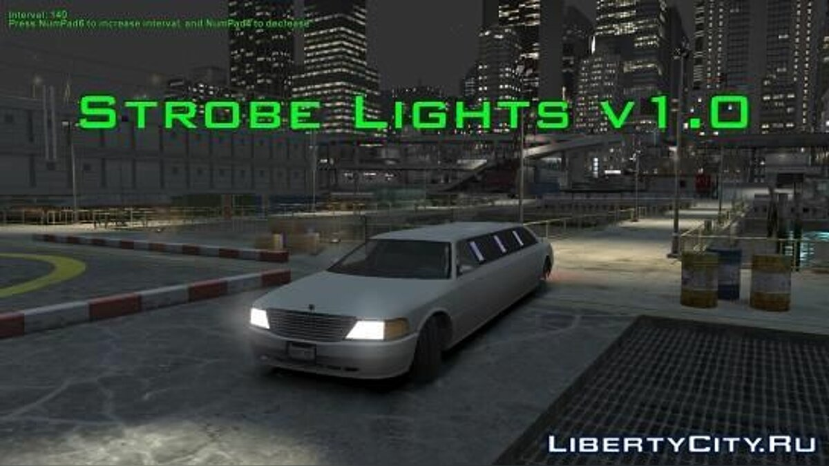 ���������� ��� Strobe Lights (�����������) ��� GTA 4