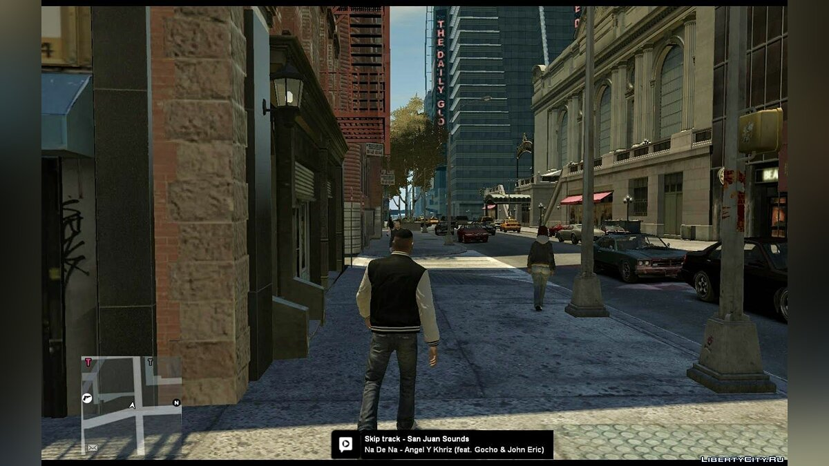 ���������� ��� Mobile radio (Watch Dogs style) ��� GTA 4