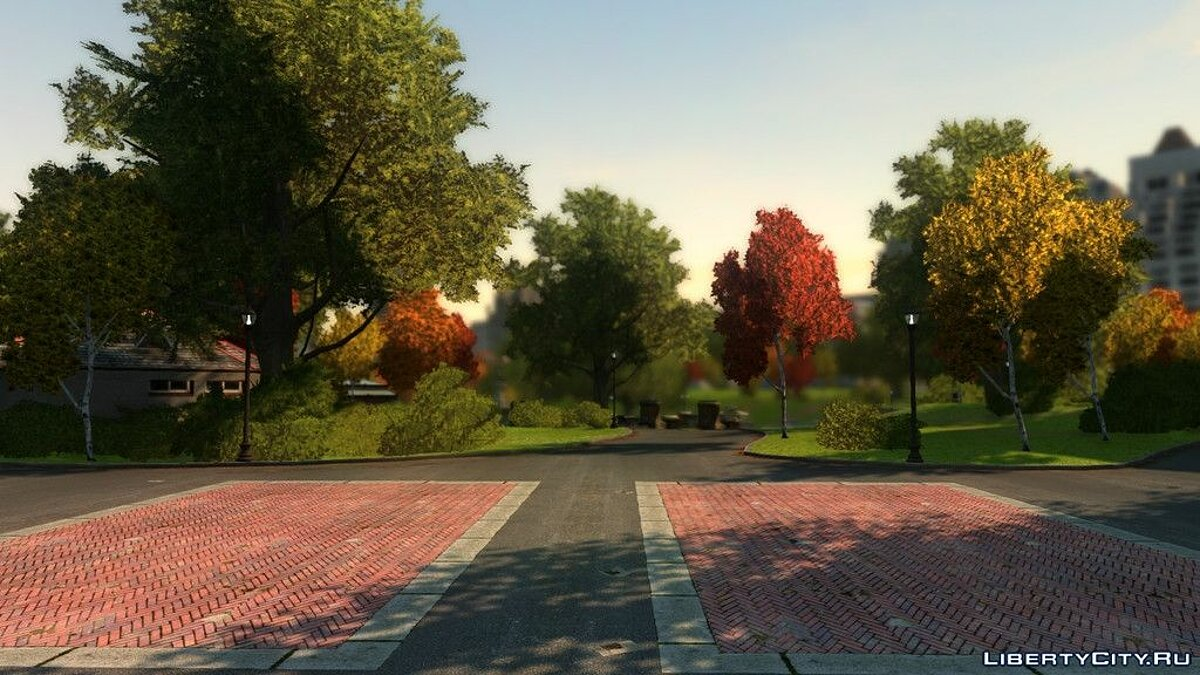 ���������� ��� Liberty City trees ��� GTA 4