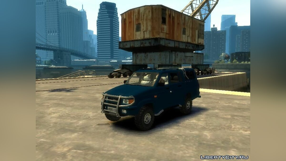������� ������ UAZ-23632 Patriot ��� GTA 4
