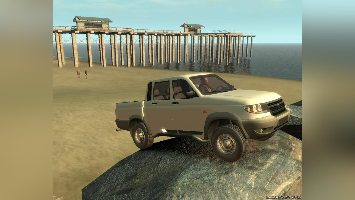 ������ ��� UAZ Patriot �ickup ��� GTA 4