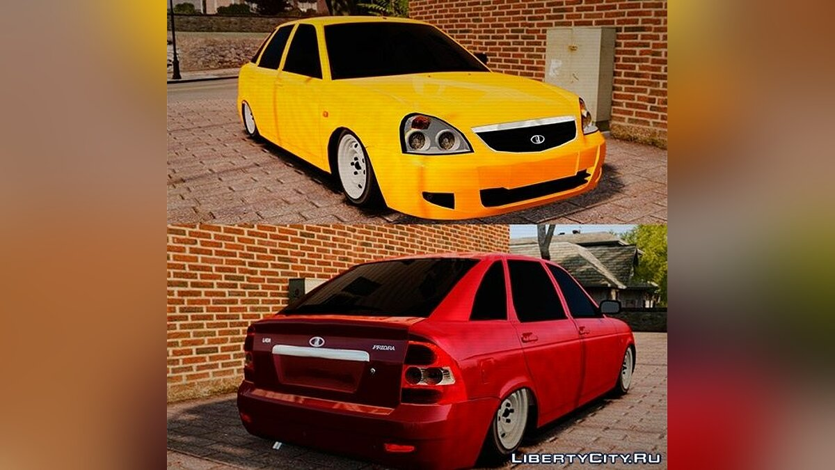 ������� ������ VAZ-2172 Priora Suite ��� GTA 4