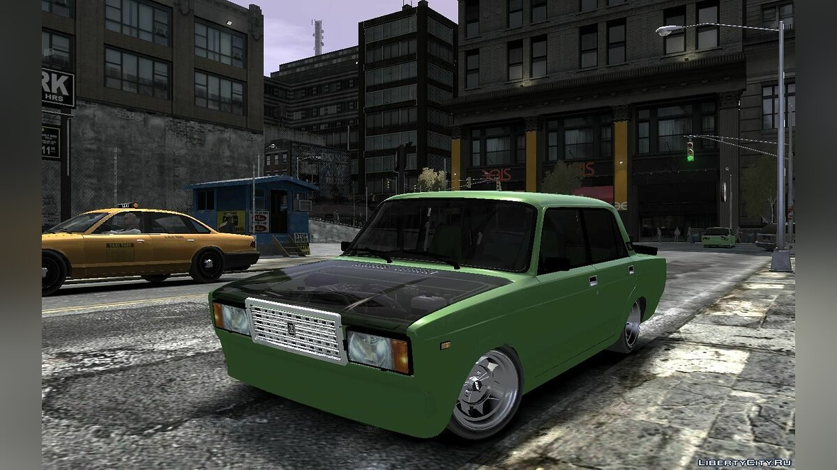 ������� ������ Lada 2107 Time Attack Racer ��� GTA 4