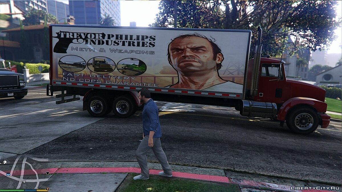 �������� ������ Trevor Philips Industries Pounder ad ��� GTA 5