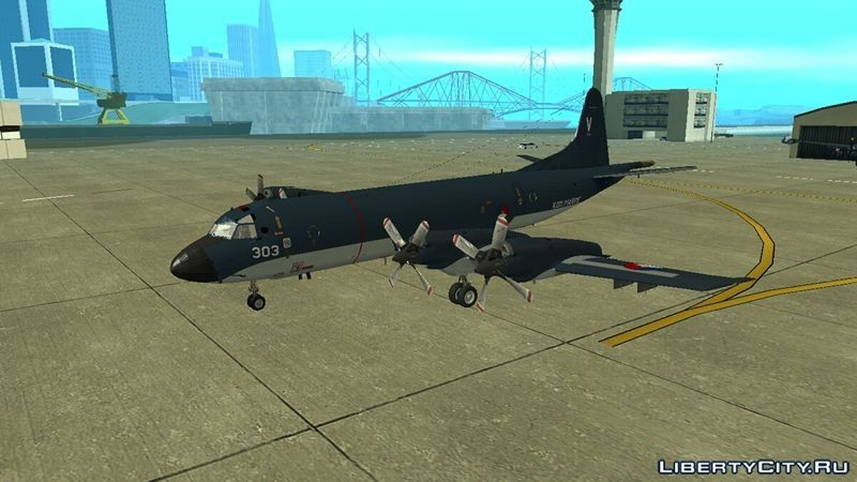 ������� � �������� Lockheed P-3 Orion ML ��� GTA San Andreas