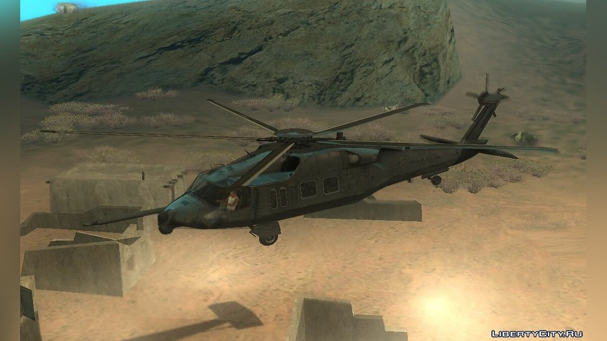 ������� � �������� MH-X Silent Hawk from CoD: Ghosts ��� GTA San Andreas