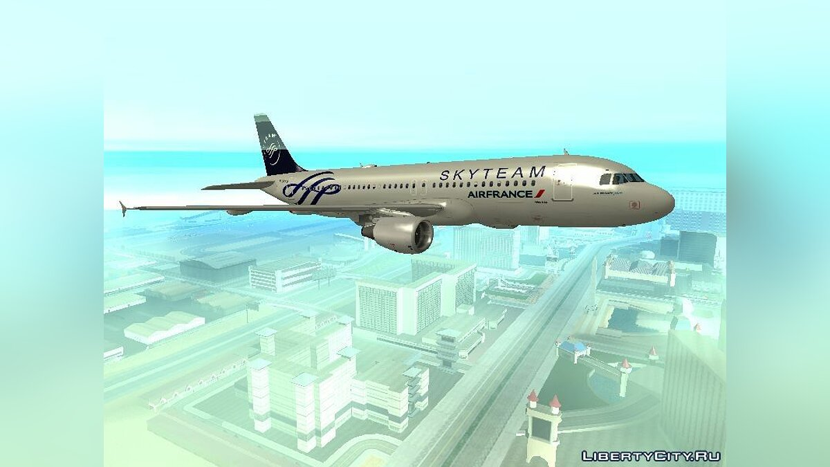 ������� � �������� TheSilent's A320 Livery Pack ��� GTA San Andreas