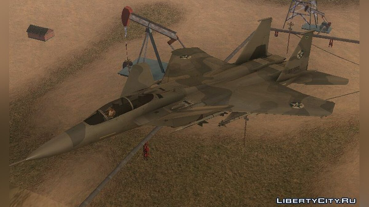 ������� � �������� F-15 S/MTD Grabacr (8492nd) Ace Combat: 5 ��� GTA San Andreas