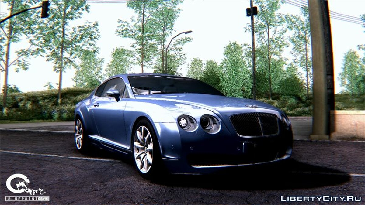 2003 Bentley Continental GT V1.0 ��� GTA San Andreas