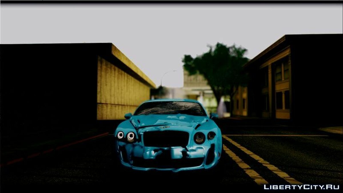 ������ Bentley 2010 Bentley Continental SuperSports ��� GTA San Andreas