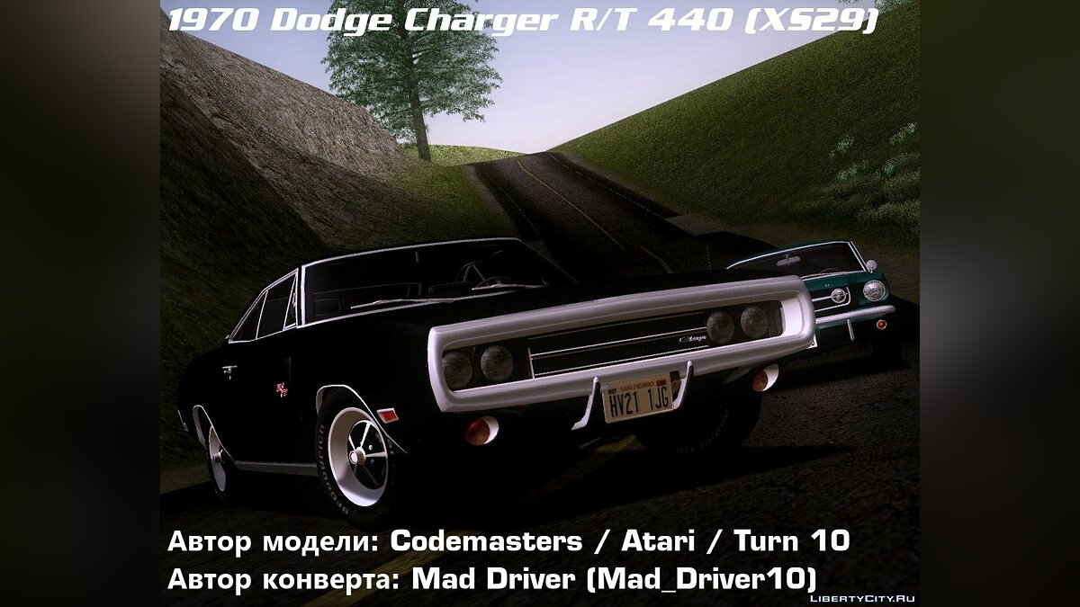 ������ Dodge Dodge Charger RT 440 (XS29) 1970 ��� GTA San Andreas