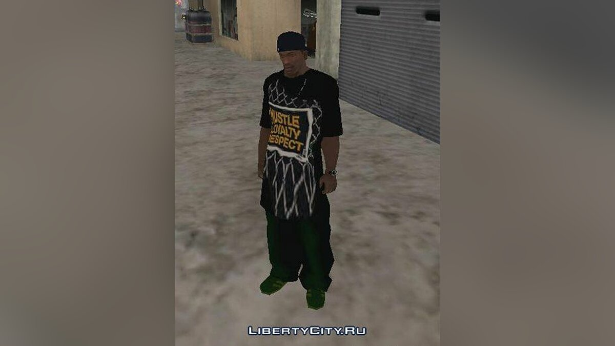 �������� � ����� New Clothes ��� GTA San Andreas