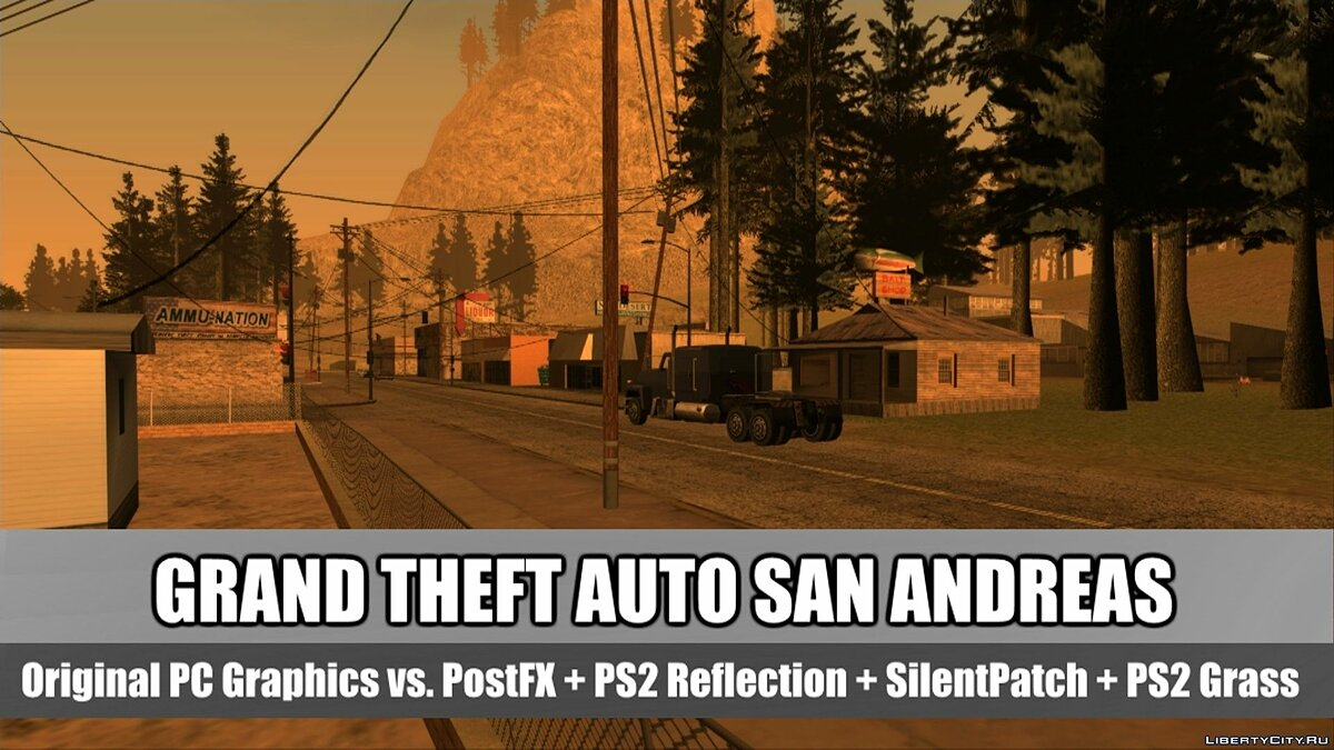 ��� ����� GTA San Andreas: Original PC Vs. SilentPatch & SkyGFX Graphics Comparison  ��� GTA San Andreas