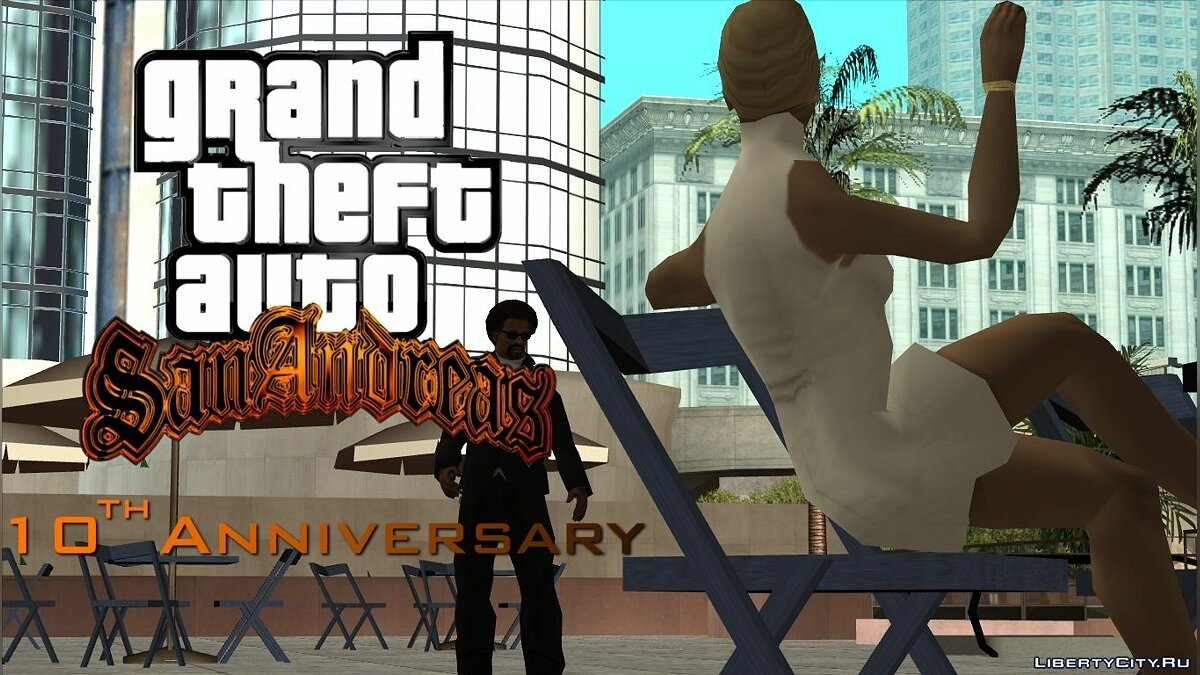 ��� ����� Grand Theft Auto: San Andreas 10th Anniversary Trailer ��� GTA San Andreas