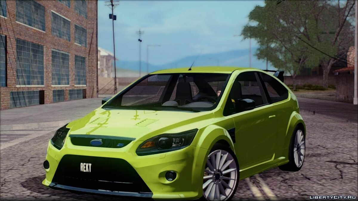 ������ Ford  Ford Focus RS ��� GTA San Andreas
