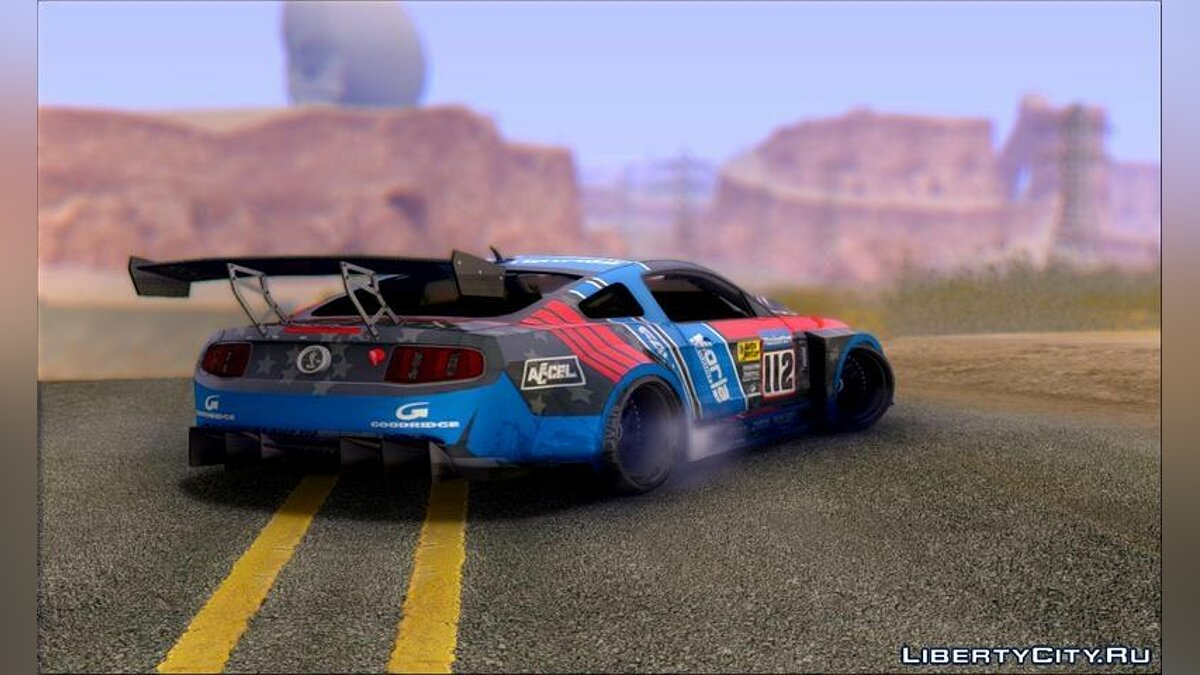 ������ Ford 2010 Ford Shelby GT500 ��� GTA San Andreas