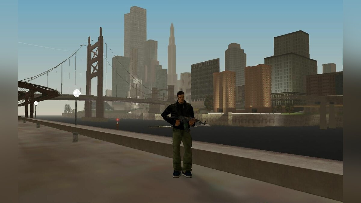 GTA Liberty City ��� GTA San Andreas