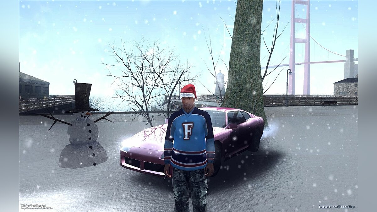 Winter Vacation 2.0 ��� GTA San Andreas