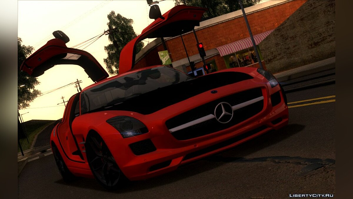 ������ Mercedes-Benz 2014 Mercedes-Benz SLS AMG GT Final Edition ��� GTA San Andreas