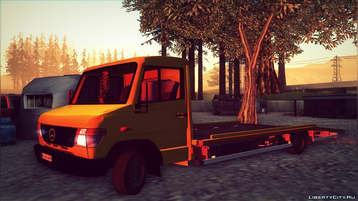 Mercedes-Benz Vario Towtruck ��� GTA San Andreas