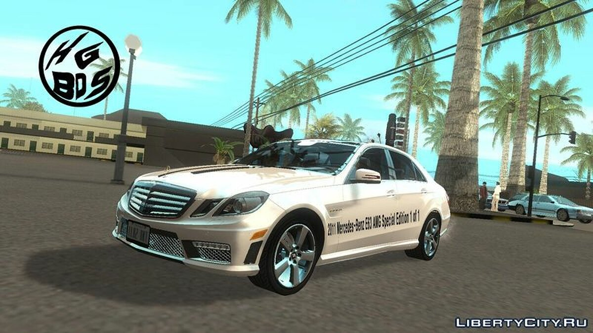2011 Mercedes-Benz E63 AMG Special Edition ��� GTA San Andreas