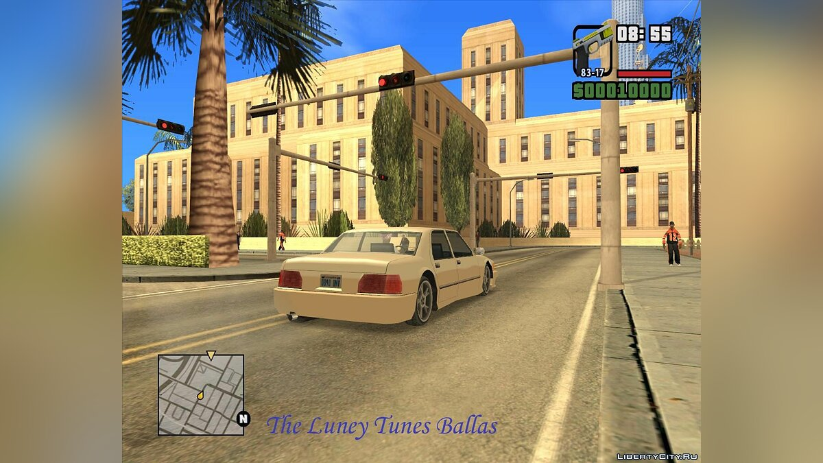 ��� The Luney Tunes Ballas ��� GTA San Andreas