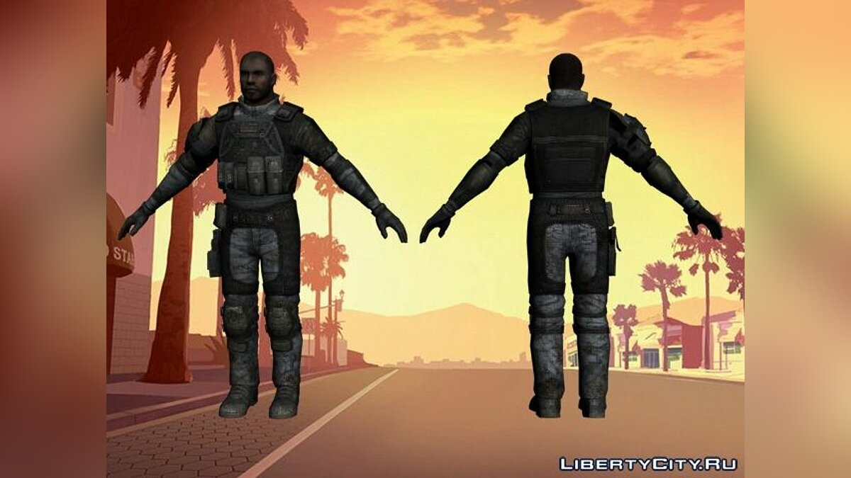 ����� �������� Soldier from HomeFront ��� GTA San Andreas