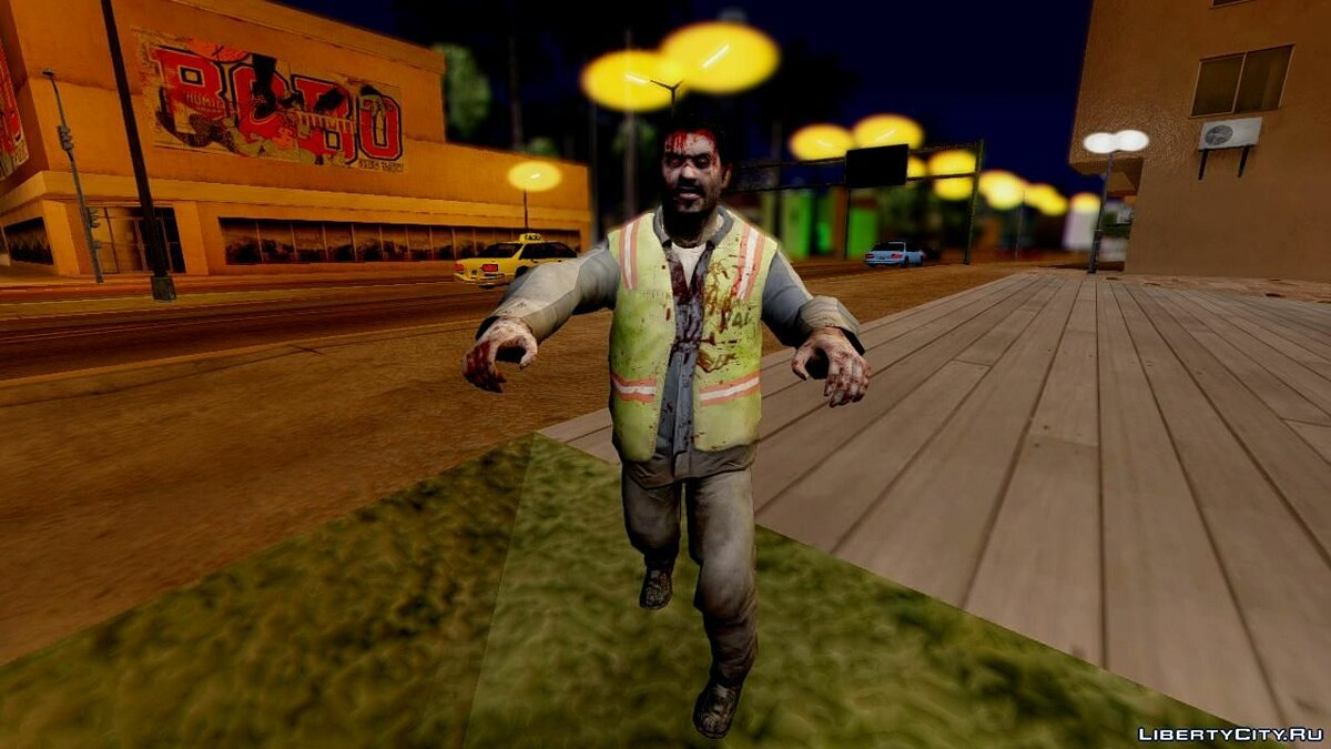 ����� �������� Left 4 Dead 2 Zombies Pack ��� GTA San Andreas