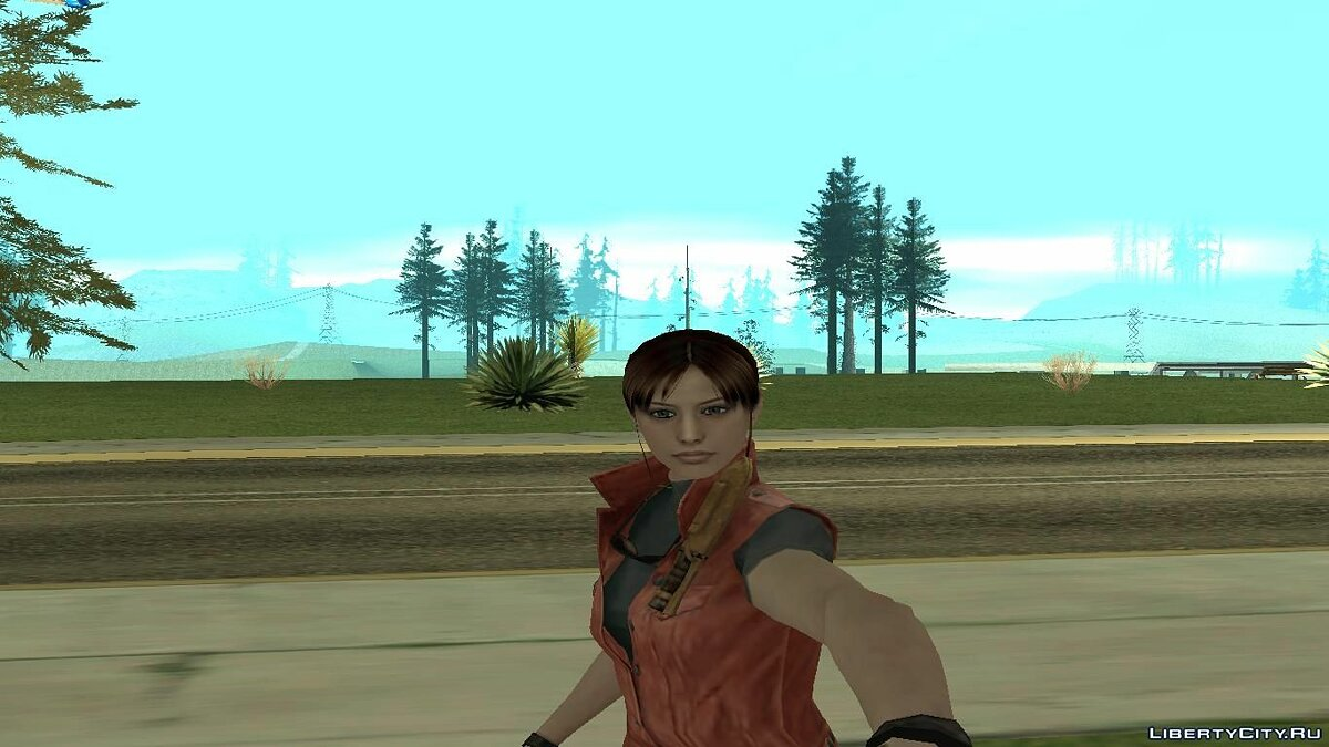 ����� �������� Claire Redfield ��� GTA San Andreas