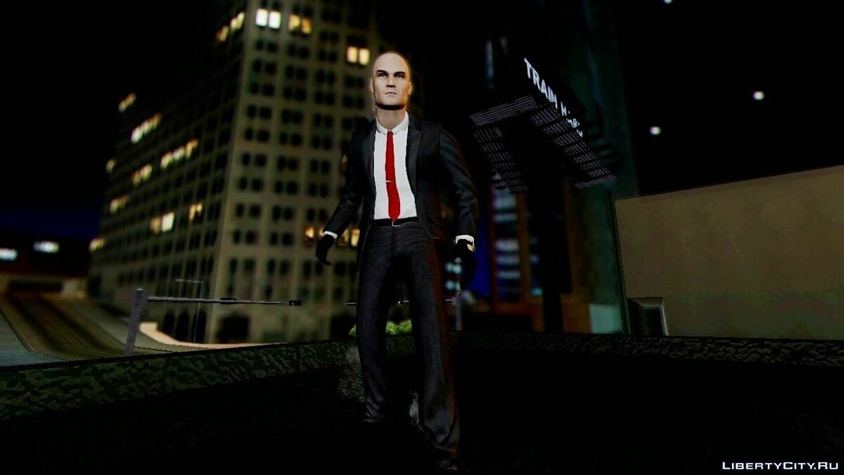 ����� �������� Hitman Absolution Agent 47 ��� GTA San Andreas