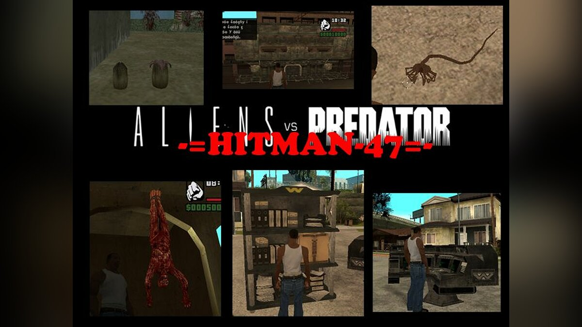 ��� �������� �� ���� Aliens vs Predator 3 v1 ��� GTA San Andreas