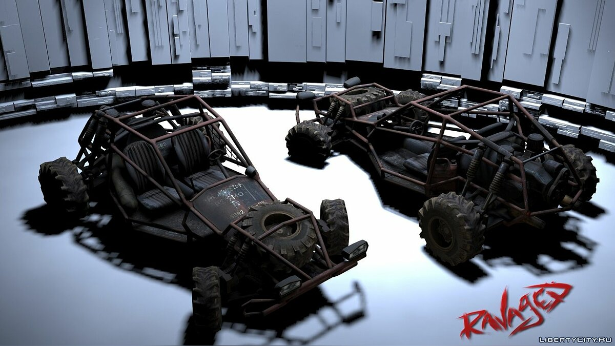������ Ravaged Buggy ��� GTA San Andreas