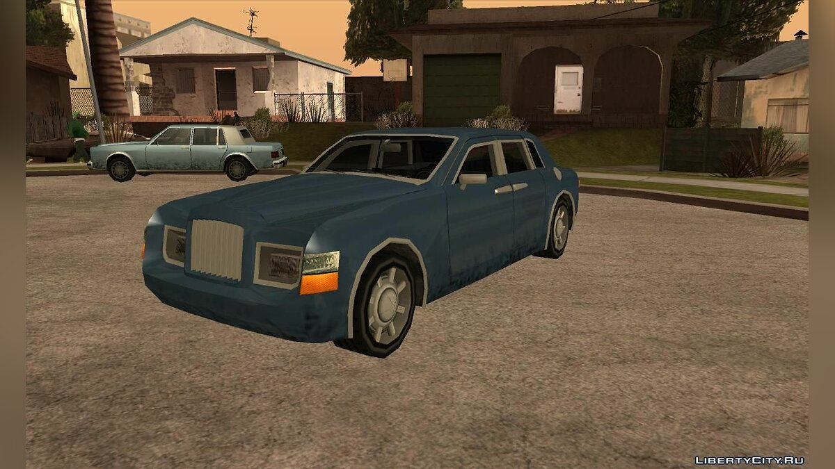 ������ Rolls Royce Phantom � ����� [SA] ��� GTA San Andreas