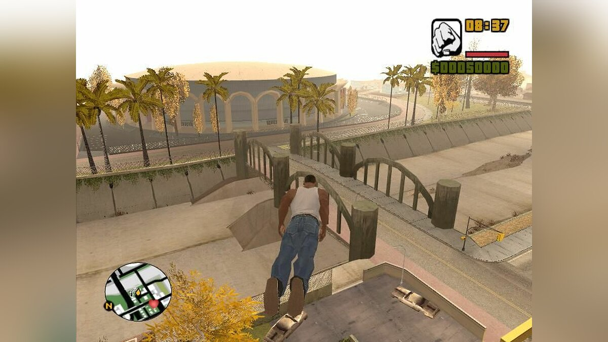 ��� FLY men - CJ ����� ����� ��������� ��� GTA San Andreas