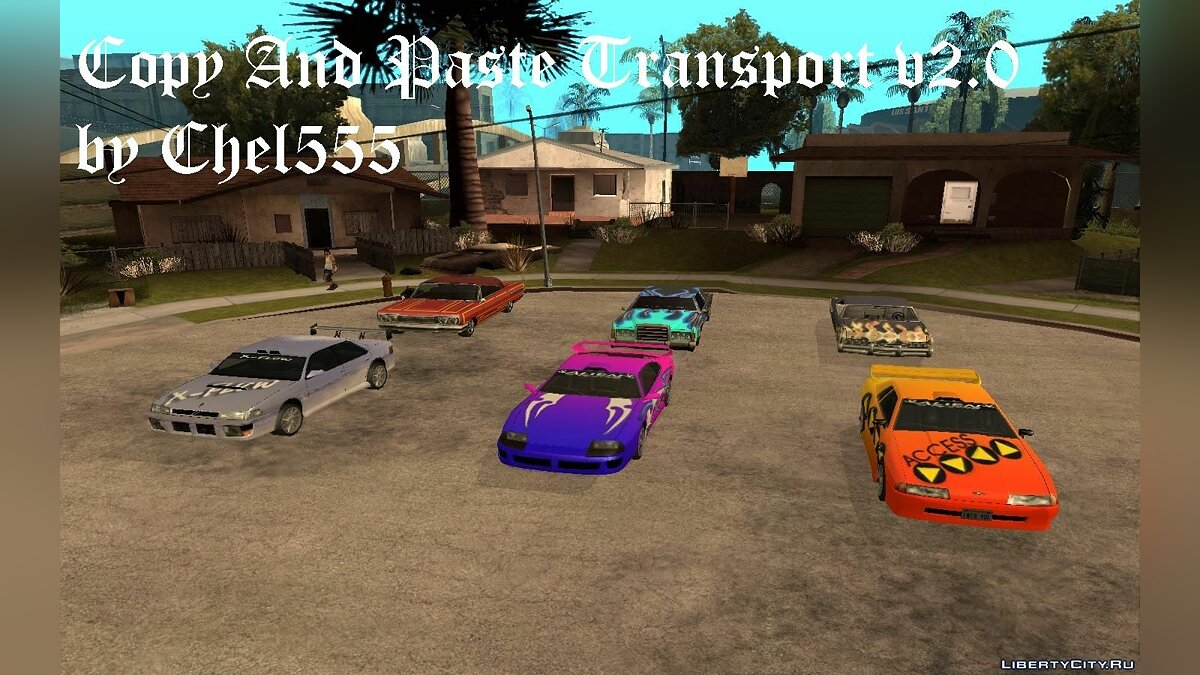 CLEO ������ Copy And Paste Transport v2.0 ��� GTA San Andreas