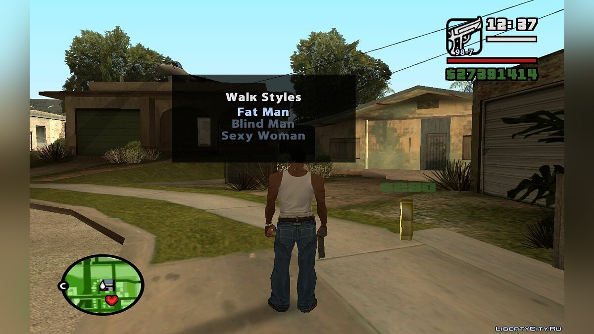CLEO ������ Change Pedtype and Walk Style of Actor ��� GTA San Andreas