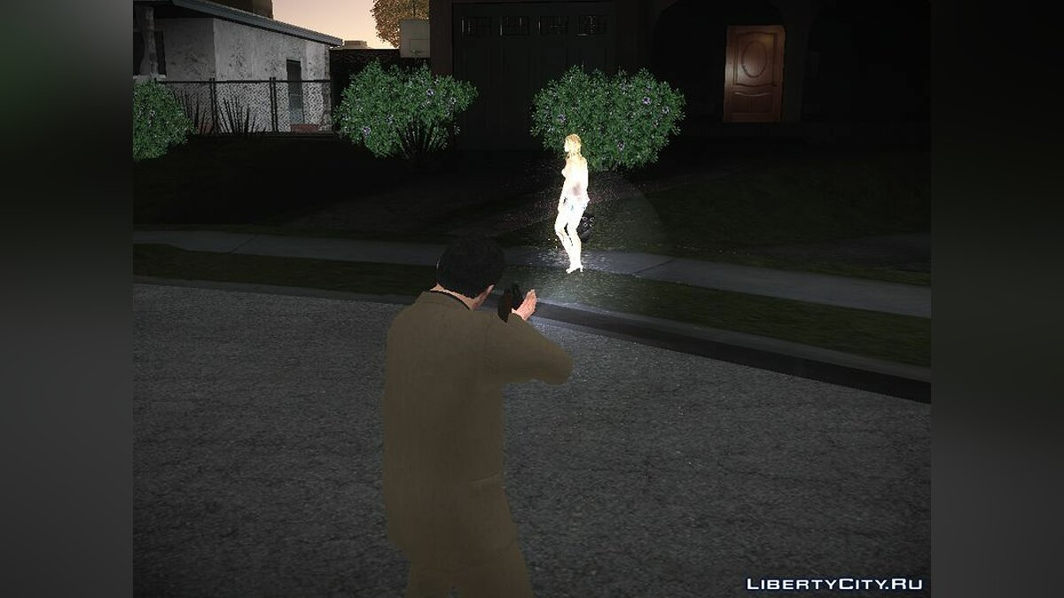 CLEO ������ GTA5 Light Gun ��� GTA San Andreas