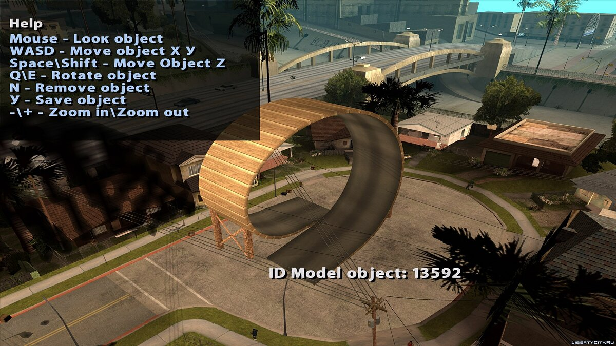 CLEO ������ Object Spawner ��� GTA San Andreas