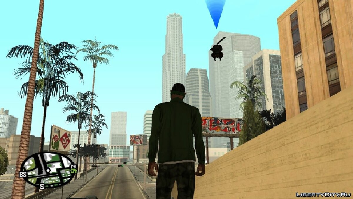 CLEO ������ RC Helicopter Bot ��� GTA San Andreas