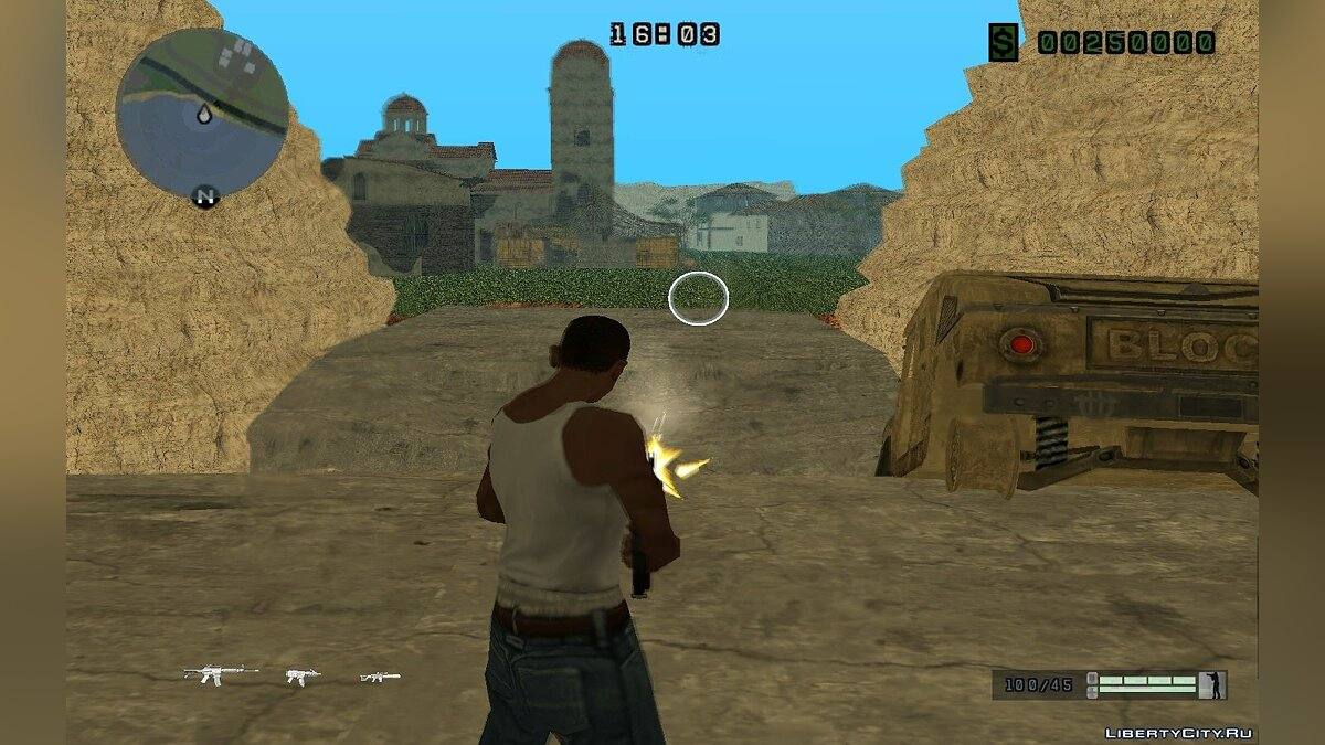 ��� HUD WarFace v1.0 ��� GTA San Andreas
