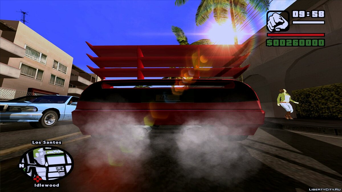 CLEO ������ Tuning Mod (Junior_Djjr) ��� GTA San Andreas