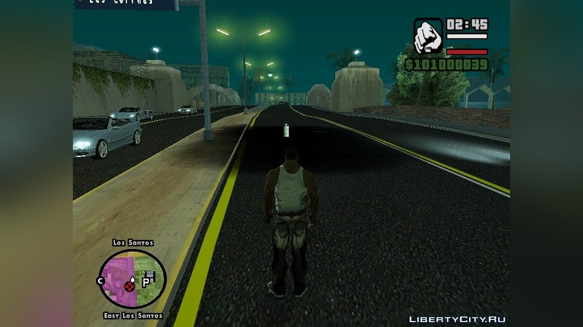 CLEO ������ Super X ��� GTA San Andreas